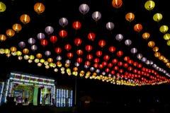 Opéra chinois en Thaïlande Photo libre de droits
