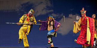 Opéra chinois : Roi de singe Image libre de droits