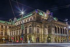 Opéra d'état de Vienne Images stock