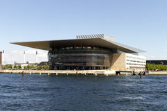 Opéra de Copenhague Photos stock