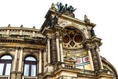 opéra de Dresde Photographie stock libre de droits