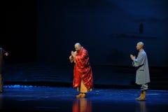 Opéra de Jiangxi d'étiquette de bouddhisme une balance Photo libre de droits