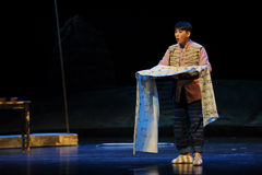 Opéra de Jiangxi d'aria une balance Photo libre de droits