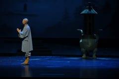 Opéra de Jiangxi de moine de Tsing Yi une balance Photographie stock