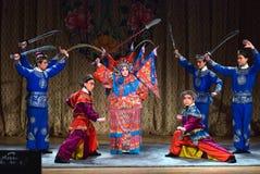 Opéra de Pékin Photos libres de droits