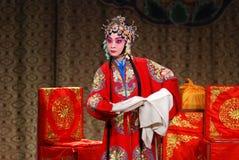 Opéra de Pékin Images libres de droits