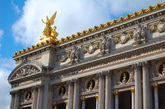 Opéra De Paryż Zdjęcie Royalty Free