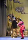 Opéra de Patrouille-Pékin : Adieu à ma concubine Image libre de droits