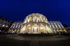Opéra De Rennes de nuit - Bretagne Images stock