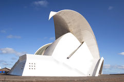 Opéra de salle de Tenerife image stock