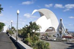 Opéra de salle de Tenerife photographie stock