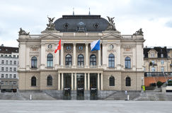 Opéra de Zurich Photographie stock libre de droits