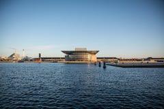 Opéra House Port de Copenhague denmark images stock