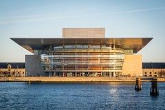 Opéra House Port de Copenhague denmark photo libre de droits