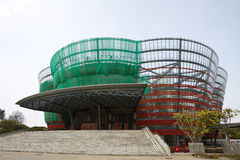 Opéra national Hall en construction, Sri Lanka Photo stock