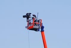 Opérateur d'appareil-photo Image libre de droits