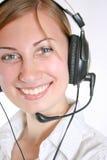 Opérateur de téléphone Photos stock