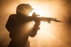 Opérateur russe de forces spéciales Photographie stock