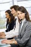 Opérateurs de service à la clientèle Image libre de droits