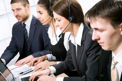 Opérateurs de téléphone Images libres de droits