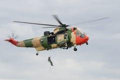 Opération de sauvetage Photo stock