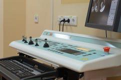 Opération pour des études angiographiques Image libre de droits