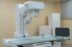 Opération pour des études angiographiques Photographie stock