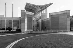 Opérations aéroportées et spéciales musée, Fayetteville NC-12 Janurary 2012 : Consacré aux soldats de WWII image stock