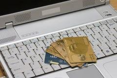 Opérations bancaires #1 d'Internet Photo stock