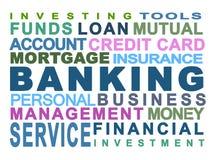 Opérations bancaires Photos stock