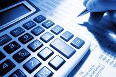 Opérations bancaires Photo libre de droits