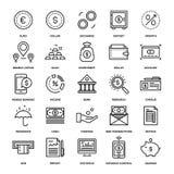 Opérations bancaires et argent Photographie stock