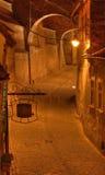 Opérations canalisation-Sibiu, Roumanie photo libre de droits