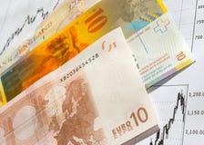 Opérations sur la bourse des valeurs. Images stock