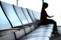 Opóźniający i odwoływający lota pojęcie zdjęcia stock