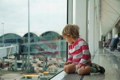opóźniający lot Zdjęcie Stock