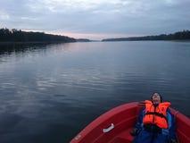 Opóźniony jezioro Obrazy Royalty Free
