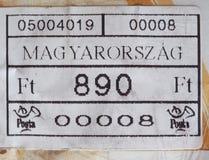opłata pocztowa metr Węgry Obrazy Stock