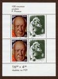 Opłata pocztowa Pablo Picasso fotografia royalty free