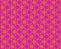 Op Art Alternated Octagons Magenta Orange Royalty Free Stock Images