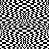 Op Art Background #2. Seamless op art background. 12-inch repeat Royalty Free Stock Photography