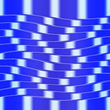 Op Art Big Waves Blue And White Seamless Royalty Free Stock Photo