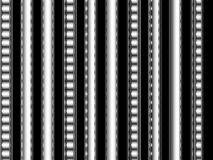 Op Art Black and White Bars and Stripes Stock Image
