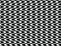 Op Art Black and White Bars and Stripes royalty free illustration