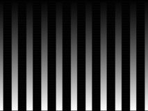 Op Art Black and White Smooth Stripes Two Stock Photography