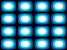 Op Art Blue Blobs Royalty Free Stock Photography