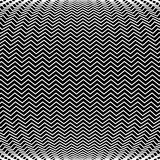Op Art Bulge Pattern. An op art pattern is featured in an abstract background illustration Royalty Free Stock Photo
