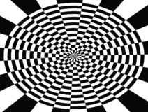 Op Art Central Web Stock Image