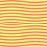 Op Art Confronted Waves Yellow and Red Royalty Free Stock Photos