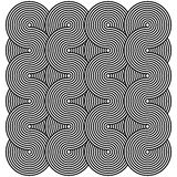 Op Art Curves Stock Images
